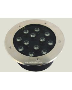 12W High Power LED In-Ground Well Landscape Light