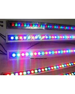 24W Color-Changing DMX Linear LED Wall Washer Light
