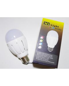 2.4G 6W E27 RGB+W Smart LED Light Bulb, Smartphone or Tablet WiFi Compatible