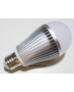 2.4G 9Watt E27 RGB+White Smart LED Light Bulb, Smartphone or Tablet WiFi Compatible