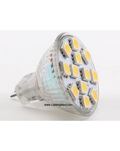 2.5W MR11 LED Replacement Bulb with 12 SMD5050 LEDs