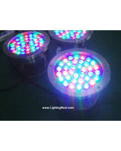 36W High Power LED Underwater Light, Landscape Fountain Pond Lamp, IP68