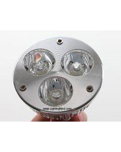 3W MR16 (GX5.3) LED Spotlight Bulb with 3 High Power SMD LEDs