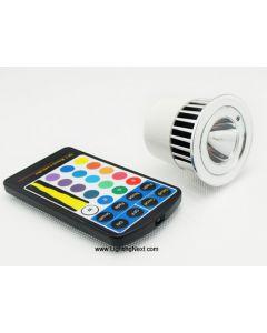 5 Watt MR16 Multi color LED Light Bulbs, RGB LED, Mood Lighting
