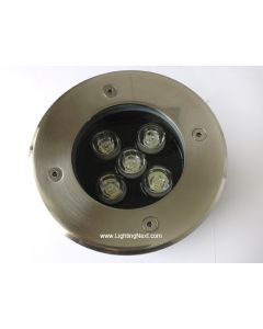 5W High Power LED In Ground Well Landscape Lighting