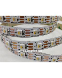 60 LED/m SK6812 Digital Addressable RGBW LED Strip, 5VDC, 4m/roll, Sold by Roll