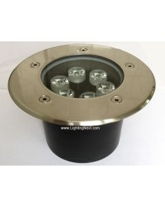 6W High Power Outdoor LED In Ground Well Lighting