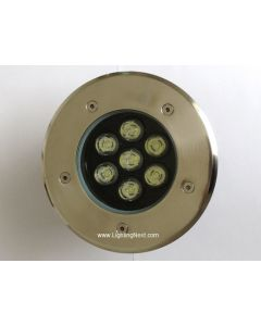 7W High Power LED In Ground Well Landscape Light