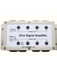 8 Channel (1 in : 8 out) DMX512 LED Signal Amplifier
