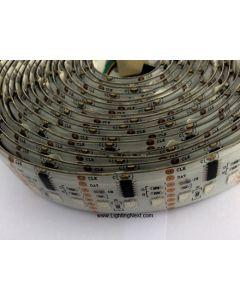 Bright WS2801 Digital Addressable RGB LED Strips, 12VDC, 5M, 32 WS2801 IC/M, 96 SMD5050/M