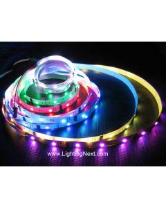 DMX 512 RGB LED Strip Light, 60LEDs/m, 5m, 24V