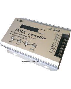 DMX RGB Controller 12V-24V High Power 8A/CH