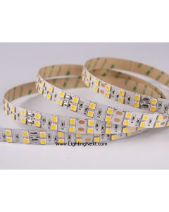 Double Row SMD 5050 LED Flexible Strip, 126 LEDs/m, 5m/roll, 12 VDC