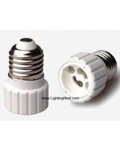 E26 / E27 Medium to GU10 /Gz10 Base  Adapter Converter