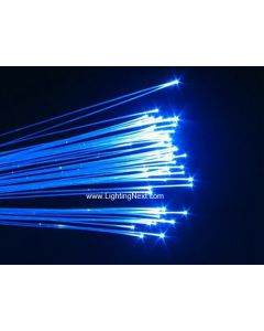 End Glow Plastic Fiber Optic Cable, 0.5/0.75/1.0/1.5/2.0/2.5/3.0 mm Available