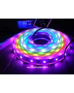 LPD6803 Digital Addressable RGB LED Strips, 12VDC, 5M, 10 LPD6803 IC/M, 30 SMD5050/M