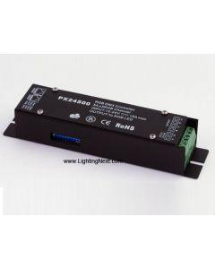PX24500 RGB DMX512 LED Decoder/Driver, 5A/CH, 12-24VDC