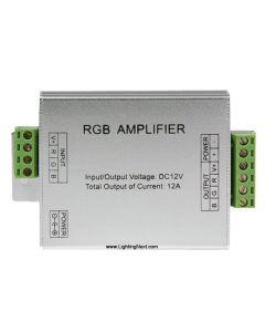 RGB Amplifier for RGB LED Light Strips, 4A/Ch, 12V DC