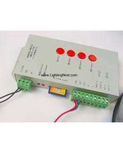 T-1000S SD Card Off-line RGB LED Controller for Digital Addressable LED Strips & Pixels