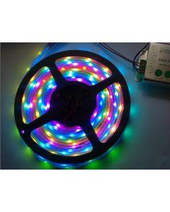 TM1809 Digital RGB LED Strips, 12VDC, 5M, 10 TM1809 IC/M, 30 SMD5050/M