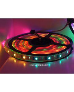 WS2801 Digital Addressable RGB LED Strips, 5VDC, 5M, 32 WS2801 IC/M, 32 SMD5050/M