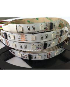 WS2801 Digital Intelligent RGB LED Strips, 12VDC, 5M, 12 WS2801 IC/M, 36 SMD5050/M