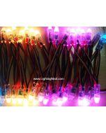 12mm LPD6803 Diffused Thin Digital RGB LED Pixels, 50 PCS/String