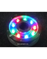 12W LED Pond & Fountain Light Ring, Submersible Spotlight for Pond Pool