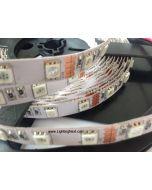 385nm Ultra Violet LED Strip Light, 12V DC, 300 SMD5050 LEDs/roll, 5m/roll