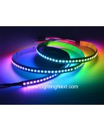 Bright 144 LEDs/M WS2812B Digital 5050 RGB LED Strip Light, 5V DC, Sold by Meter