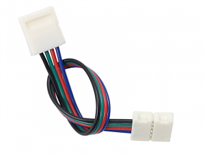 10mm 4-conductor LED Strip Connector