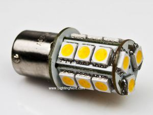 1156 (BA15S) LED Replacement Bulb, 18 SMD5050 LEDs Tower (2 Pack)