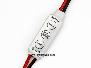 12V6A Universal Single Color Mini PWM LED Dimmer