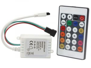 12V IR Controller and Remote - RGB Chaser