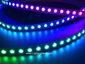 144/m SK6812 3535 Mini Digital RGB LED Strip, 7mm Wide, 1m, 5V