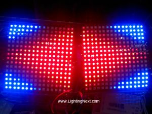 16*16 Pixel Flexible WS2812B Digital Addressable LED Matrix Sheet