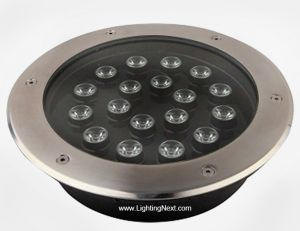 18 Watt High Power LED In-Ground Well Light