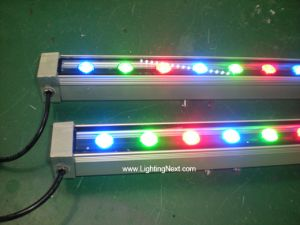 18W Color-Changing RGB DMX Linear LED Wall Washer