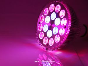 18x1W PAR38 E27 Red Blue White LED Grow Light Bulb