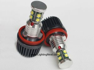 2200 Lumen H8 80W CREE LED Angel Eye Marker Bulb Set