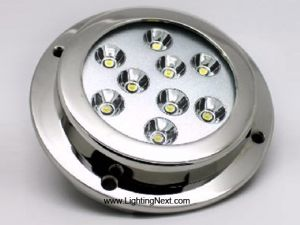 27W LED Underwater Lighting, Marine Boat Yacht Light