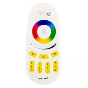 2.4G 4-Zone RF Touch Color RGBW Remote Controller