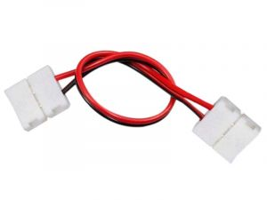 2 Pin 8/10mm Double Heads Solderless LED Fast Connector For Single Color LED Light Strips