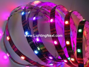 30 LED/m APA102 Digital Addressable RGB LED Strip, 5VDC, 5m/roll, Sold by Roll
