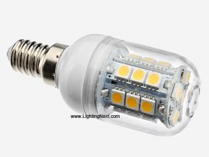 3.5W E14 LED Halogen Replacement Bulb with 27 SMD5050 LEDs