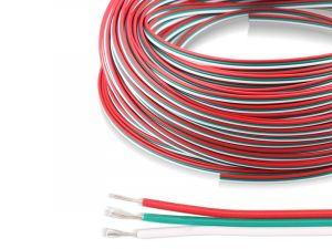 3 Pins 20/22AWG Power Wire Extension Cable Line Wire For CCT and Addressable LED Strip Lights, 1M By Sale