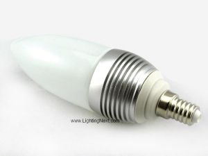 3W E14 LED Candle Light Bulb, 20 Watt Halogen Equivalent Bulbs