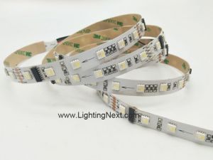 60/m 4-in-1 RGBW DMX 512 LED Strip Light, 5m, 24V