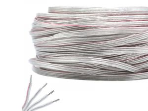 4 Pin 20Awg 4*0.5mm Prue Tinned Copper Core Waterproof Transparent Jacket Power Signal Extension Cable, 1m by sale