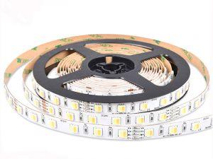2-In-1 5050 Dual White LED Strip, DC24V, 60LEDs/m, 5M